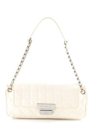 Chanel Borsa a tracolla bianco sporco motivo trapuntato elegante