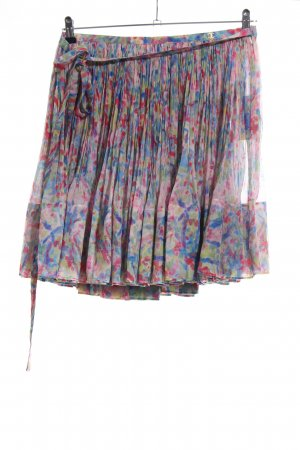 Chanel Silk Skirt allover print casual look