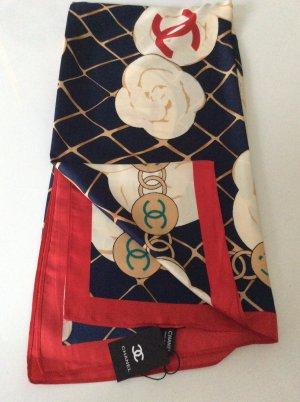 Chanel Pañuelo de seda multicolor Seda