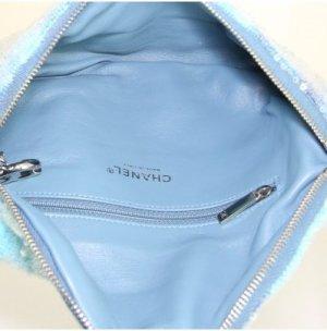 Chanel Clutch blue textile fiber