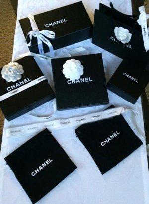 Chanel Set ♥Boxen ♥Tüte ♥Kamelien ♥Band