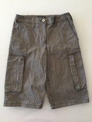 Chanel Short en jean blanc tissu mixte