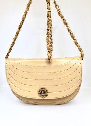 Chanel Borsa a tracolla beige-crema