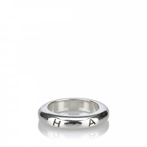 Chanel Ring silver-colored real silver