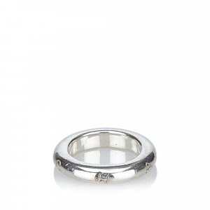 Chanel Signature Silver Ring