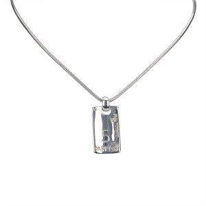 Chanel Silver-Tone Necklace