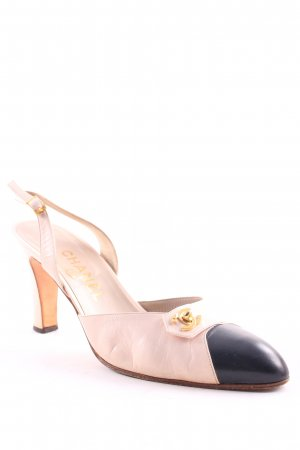 Chanel Slingback-Pumps mehrfarbig Business-Look