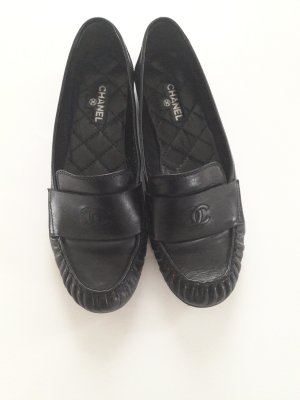 Chanel Slippers black