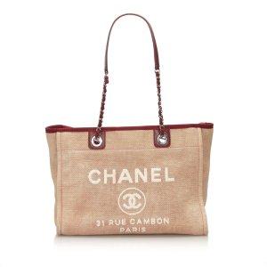 Chanel Borsa larga rosa pallido