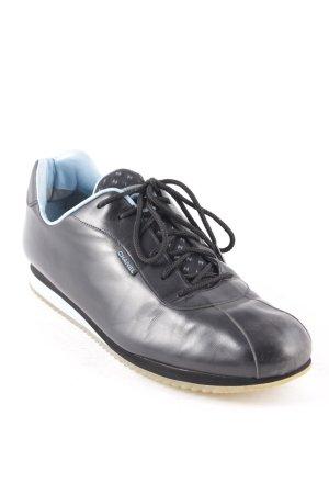 Chanel Sneaker schwarz-blau