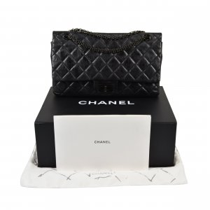 CHANEL So Black 2.55 Reissue Handtasche @mylovelyboutique.com