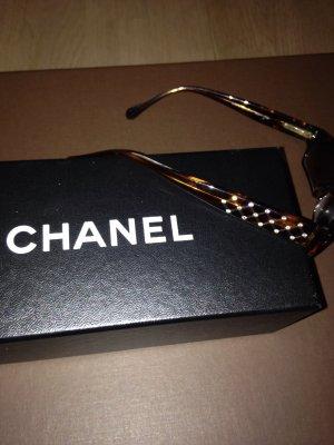 Chanel Occhiale da sole marrone-rosso