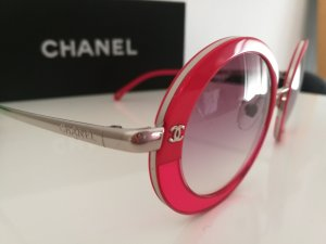 Chanel Sunglasses raspberry-red