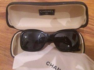 Chanel Gafas de sol redondas negro