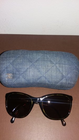 Chanel Occhiale da sole marrone scuro-blu scuro