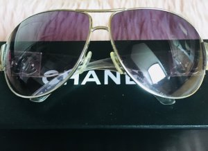 Chanel Sonnenbrille Custom Made Hell lila Gläser Aviator