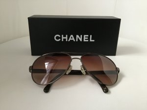 Chanel Occhiale da pilota multicolore Metallo