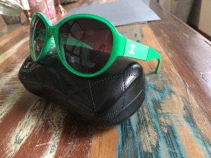 Chanel Sonnenbrille Grün