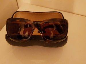 CHANEL Sonnenbrille, hellbraun