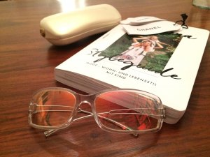 Chanel Occhiale da sole argento-color carne