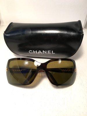 Chanel Sonnenbrille mit durchgängigen Gläsern