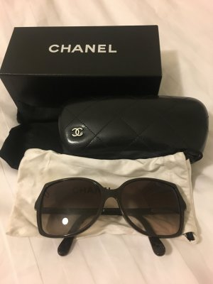 Chanel Glasses bronze-colored synthetic material