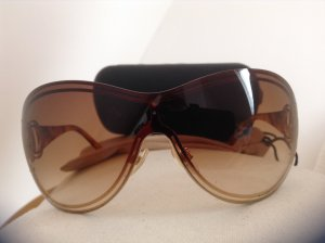 CHANEL Sonnenbrille mit Goldrahmen