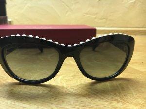 Chanel Sonnenbrille mit Perlenbesatz