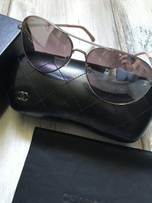 Chanel Sonnenbrille Modell Aviatar Rosa /Silber verspiegelt 349€ mit Rechnung