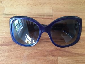 CHANEL Sonnenbrille - oversized in Azurblau