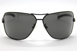 Chanel Oval Sunglasses black metal