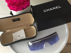 Chanel Occhiale argento-viola