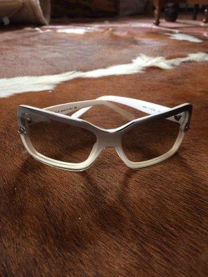 Chanel Sonnenbrille, weiß! Keine Gebrauchspuren!