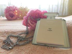 Chanel Spiegel in Flakonform mit Kette und Duftkärtchen - Gift