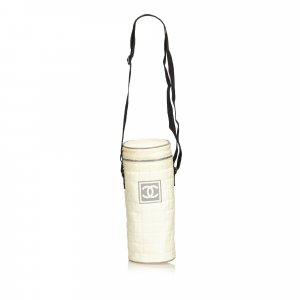 Chanel Gekruiste tas wit Nylon