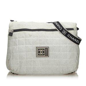 Chanel Sports Line Cotton Crossbody Bag