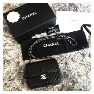 Chanel Borsa a spalla nero Pelle