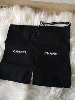 Chanel Staubbeutel für Schuhe Leinen Original
