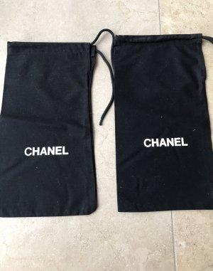 Chanel Pañuelo blanco-negro