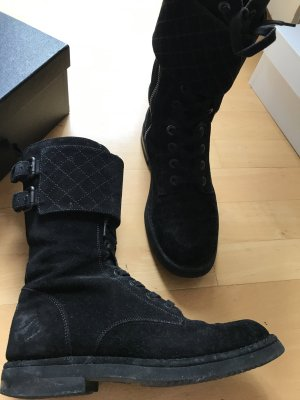 Chanel Short Boots black