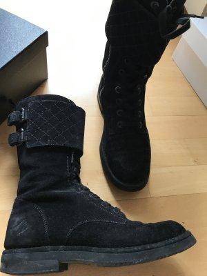 Chanel Botte courte noir