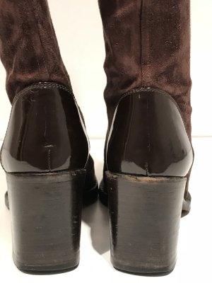 Chanel Stiefel Willeder braun in 36