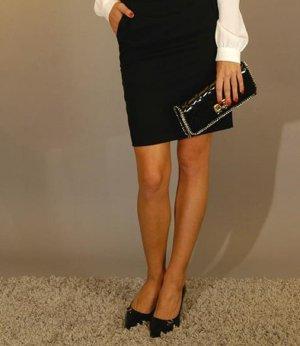 Chanel Style Set:neues Clutch aus Lackleder+passende italienische Schuhe, EU36