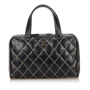 Chanel Surpique Mini Boston Bag