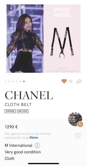 Chanel Tirantes negro