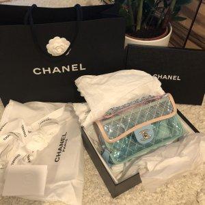 Chanel Bolso tipo pochette blanco