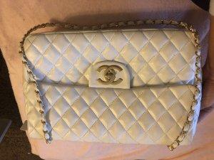 Chanel Sac à main blanc-doré