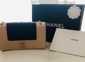 Chanel Bolso negro-beige