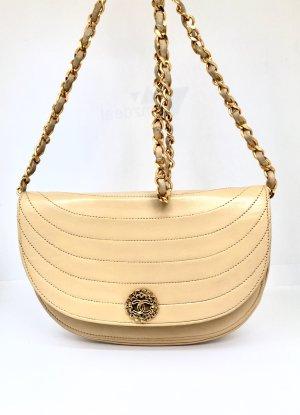 Chanel Bolsa de hombro crema-beige claro