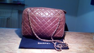 Chanel Tasche ORIGINAL - Handtasche Camera Bag in rehbraun/kamel